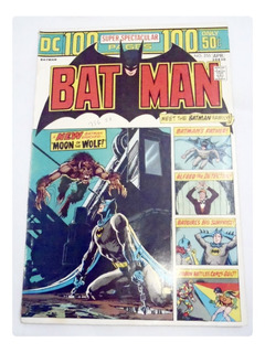 Batman Dc Vol 35 No 255 Marzo-abril 1974 En La Plata