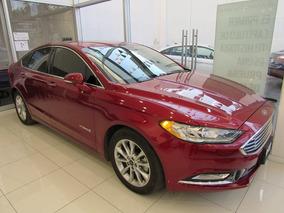 Ford Fusion 2.0 Se Lux Híbrido Cvt Rojo Imperial 2017