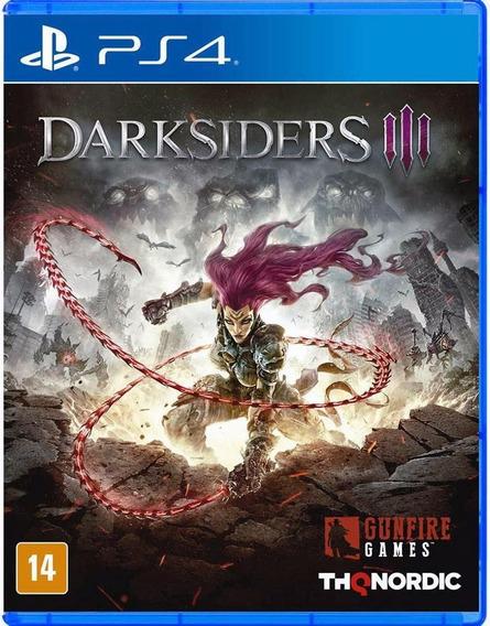 Darksiders Iii Ps4 Pt-br Mídia Física Novo