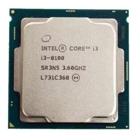 Processador Intel Core I3-8100 * Promoção *