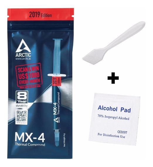Pasta Térmica Arctic Mx-4 4g Original + Espátula + Álcool