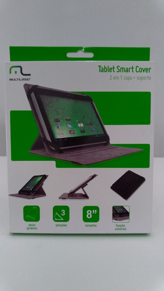 Capa 2/1 Tablet Smarth Cover Multilaser 8 Bo192 3 Posições