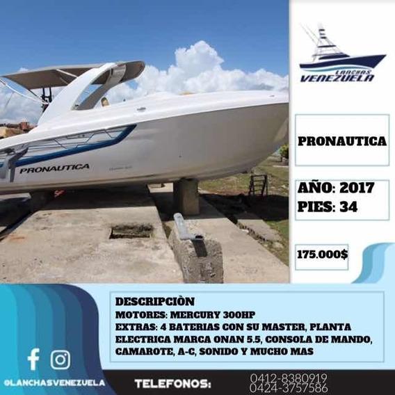 Lancha Pronautica 34 Lv311