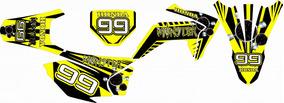 Kit Grafico / Adesivos Honda Crf 230 Cc