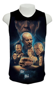 Camiseta Breaking Bad 05 - Regata Frete Grátis
