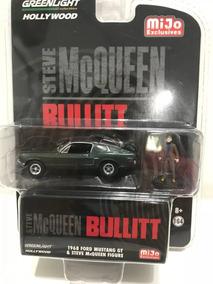 1/64 Greenlight Mustang Bullit + Steve Mcqueen