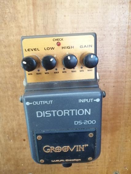 Pedal Distorção Guitarra Distortion Grooving