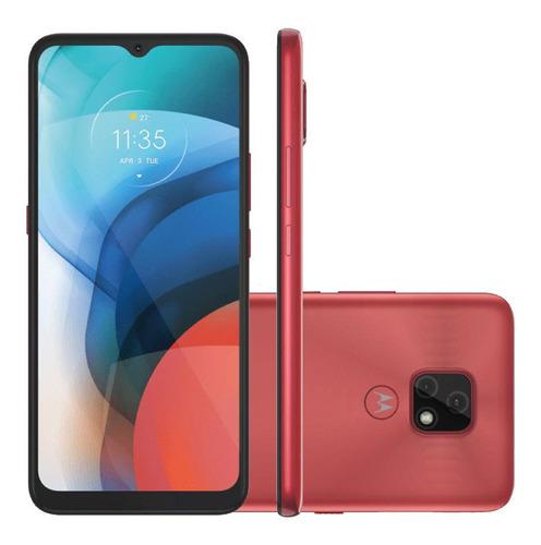 Imagem 1 de 4 de Smartphone Motorola Moto E7 64gb 4g Câmera Dupla Cobre
