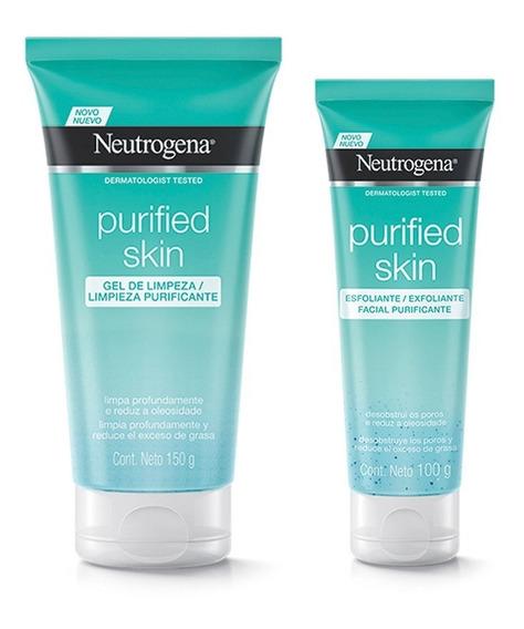 Gel Limpiador Neutrogena + Exfoliante Purified - Neutrogena