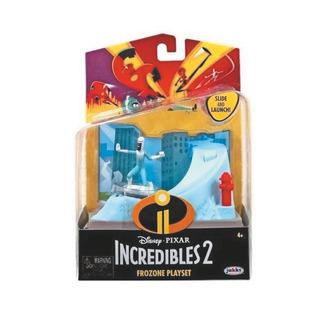 Muñecos Los Increíbles Escenarios Con Personajes Frozone