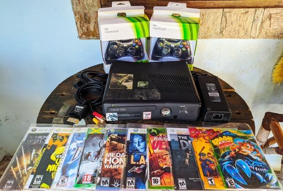 Xbox 360 Slim Desbloqueado+ Brinde+ Sem Juros+ Frete Grátis!