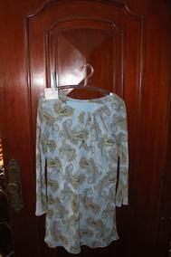 = Roupa Lote 568 Mulher Conjunto Azul 44 Calça Camisa Cia Da