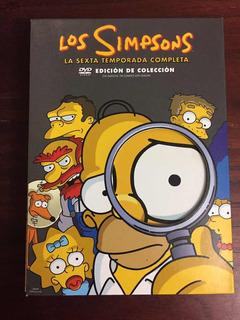 Dvd The Simpsons Season 6 Edición De Colección Original