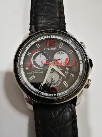 Reloj Citizen Eco Drive Radio Controled Caballero N610