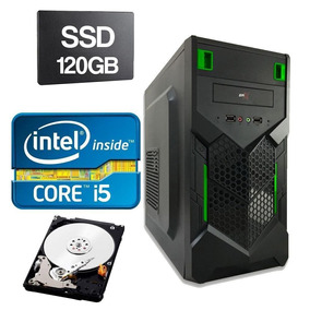 Cpu Intel Core I5 2400 3.1ghz 4gb Ddr3 Ssd 120gb Hd 320gb