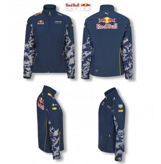 Chamarra Soft Shell Red Bull Racing Formula 1 Mujer Mediana