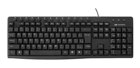 Teclado Usb Multimidia Kb-m30bk Preto C3tech + Nfe