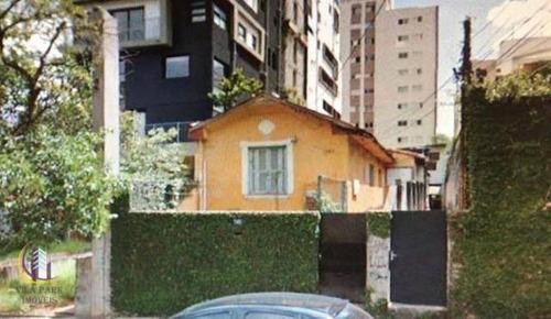 Imagem 1 de 5 de Terreno À Venda, 350 M² Por R$ 3.100.000,00 - Pinheiros - São Paulo/sp - Te0117