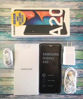 Samsung Galaxy A20 Pantalla 6.4 3gb/32gb Cam 13/8 Mp Mod2019