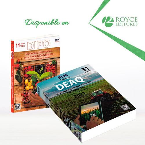 Imagen 1 de 1 de Deaq 2021 Diccionario De Especialidades Agroquímicas Con Qr
