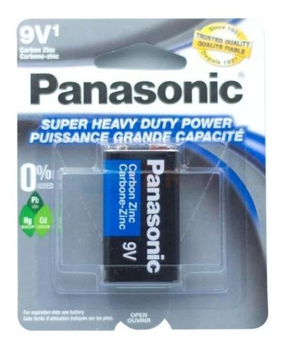 Haz Negocio  Lote 10 Pilas Cuadrada 9v Panasonic Original