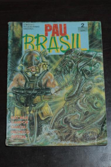 Hq Pau Brasil Nº2 Editora Vidente Gibi Antigo Raro