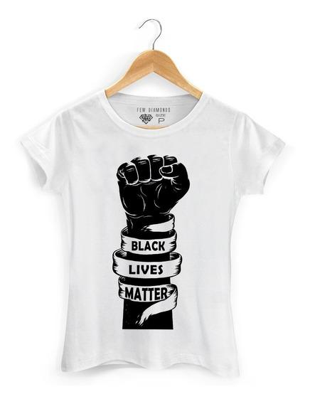 Camiseta Camisa Black Liver Matter Vidas Negras Importam