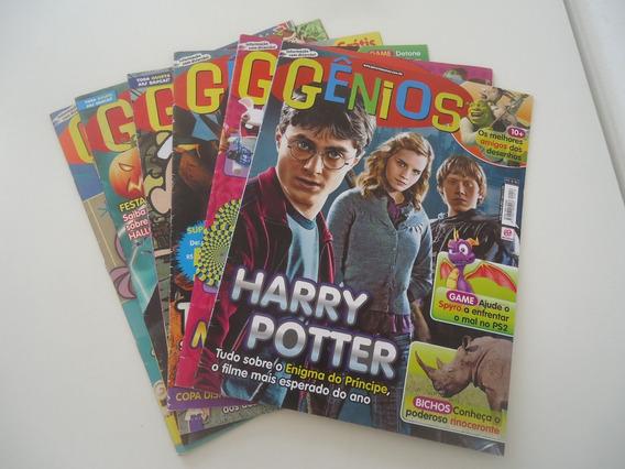 Revistas Genios Avulsas - Preço Por Revista