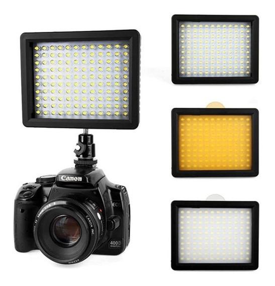 Iluminador Led Wansen W-160 Leds Para Canon Nikon Sony...etc