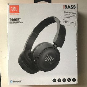 Fone Sem Fio On-ear Jbl Harman T460bt Pure Bass Bluetooth