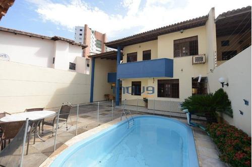 Casa Com 5 Dormitórios À Venda, 230 M² Por R$ 590.000,00 - Engenheiro Luciano Cavalcante - Fortaleza/ce - Ca0968