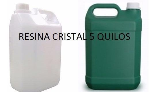 Resina Cristal 5 Quilos