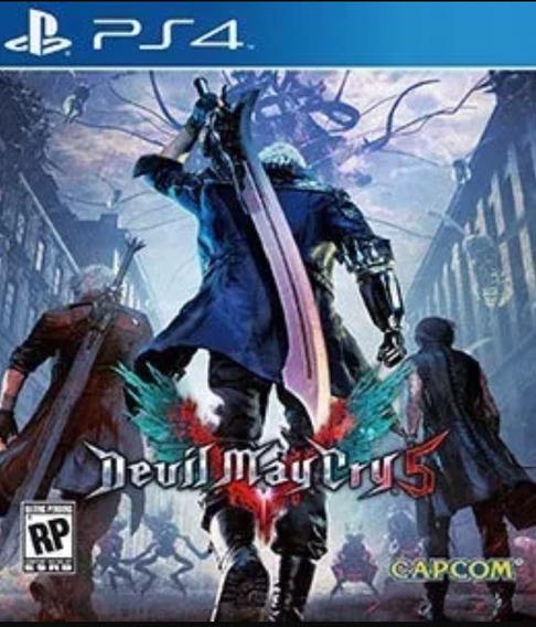 Devil May Cry 5 - Ps4 Digital Original 1 Envio Já