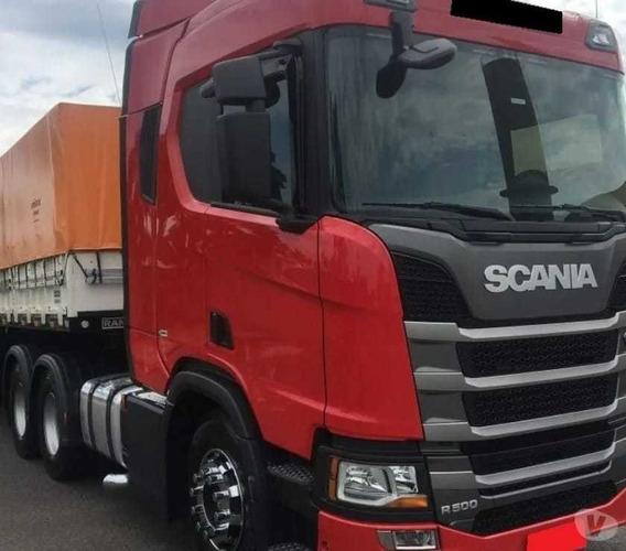 Scania R-500 6x4 2019 Conjunto Bitrem Parcelado