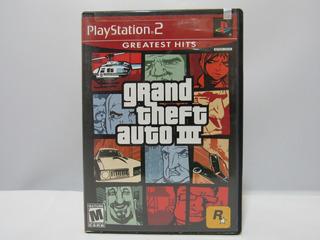 Grand Theft Auto 3 - Ps2 ¡fisico-usado!