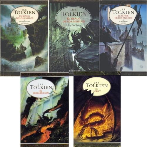 Pack Señor De Los Anillos + Hobbit + Silmarillion - Tolkien