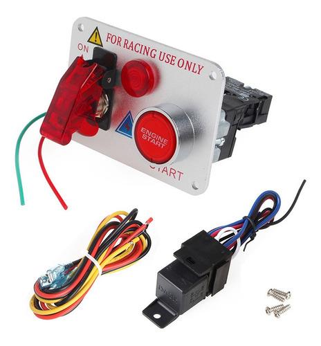 Imagen 1 de 10 de Tablero Ignicion O Encendido Tipo Competicion Relay Y Cable