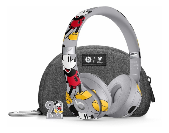 Headphone Beats Solo 3 - Disney Mickey - Edição Limitada