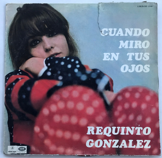Disco Requinto Gonzalez Vinilo
