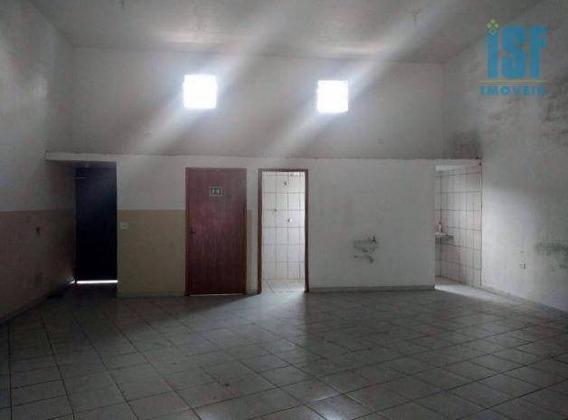 Salão 190m² Para Locação, Bussocaba, Osasco - Ga0233. - Sl0041