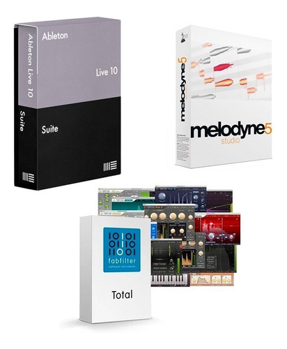 Ablet0n 10 + Fabfilter + Melodyne 5 Win O Mac/ultima Versión
