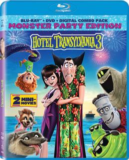 Blu-ray : Hotel Transylvania 3: Summer Vacation (with Dvd,..