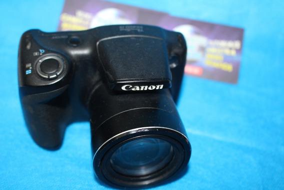 Camera Semi Profissional Canon Sx400is