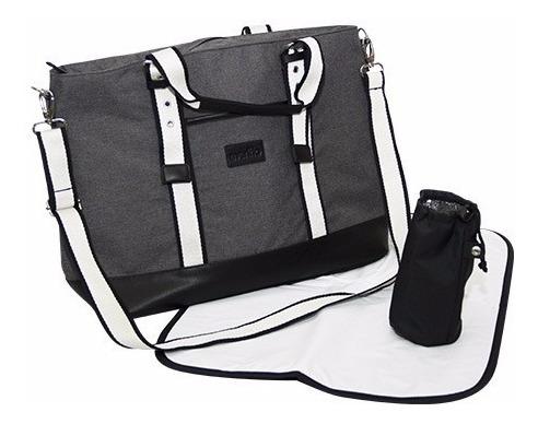 Bolso Maternal Evenflo Diaper Bag Con Cambiador Lujo