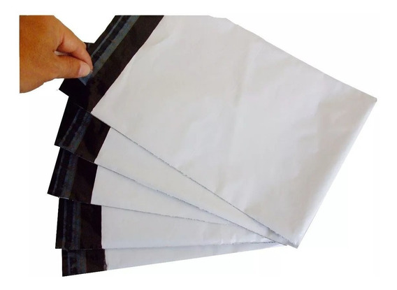 Embalagem 19x25 (500 Und) Envelope Plástico Correios Sedex