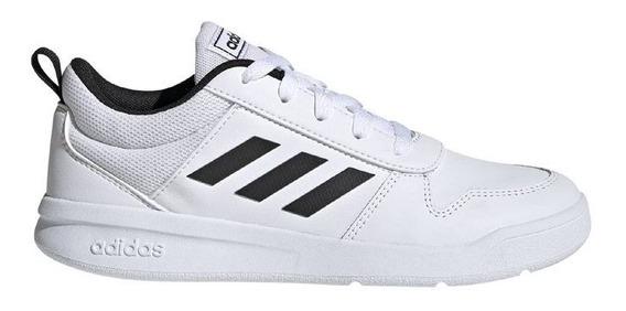 Zapatillas Escolar adidas Tensaur Blanco/negro -envio Gratis
