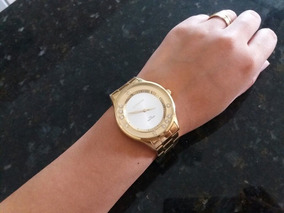 Relógio Feminino Dourado Marca Lince | Usado