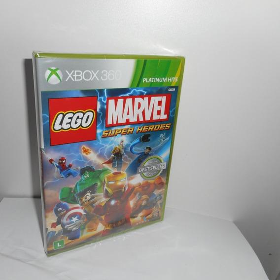 Lego Marvel Super Heroes Xbox 360 Mídia Física Novo Lacrado