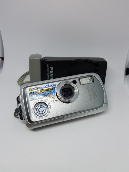 Câmera Pentax Optio Water Proof 5.0mp 3xzoom