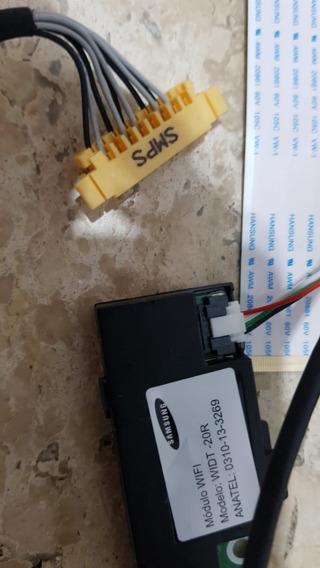 Cj. Flat Cable, Sensor Wi-fi, Flat, Tv Samsung Un46f6400ag